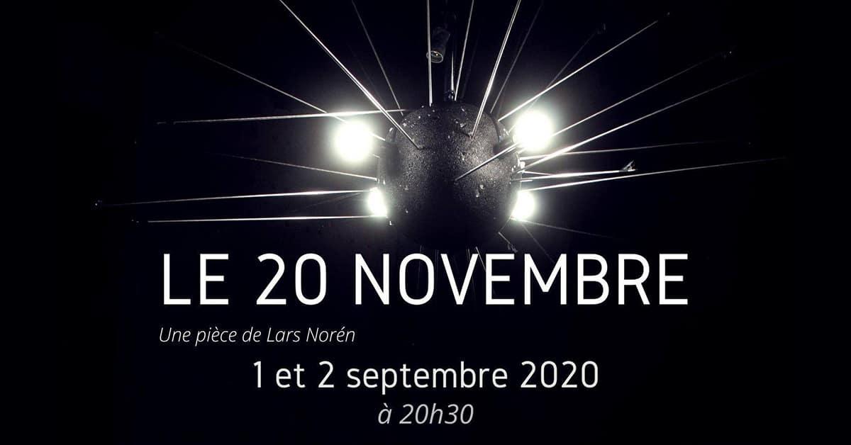 le 20 novembre nouveau studio theatre