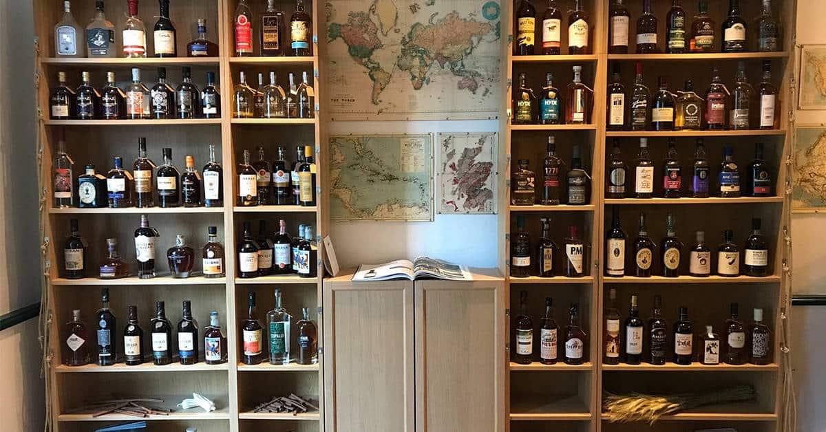 le firkin nantes cave bar rhum whisky 4