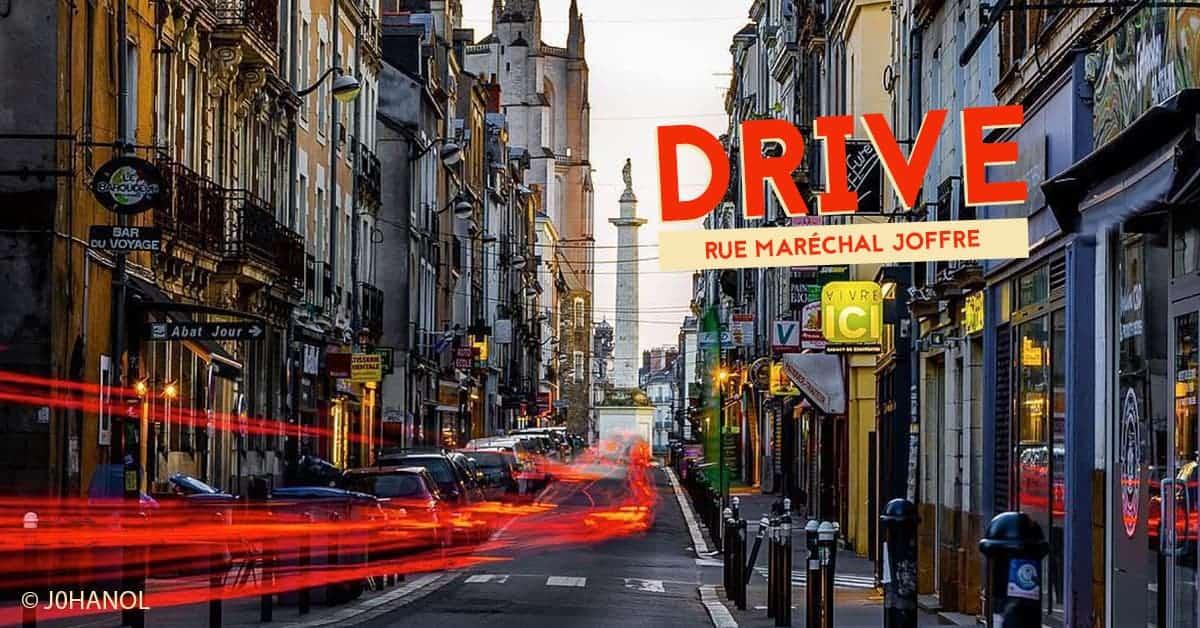 reconfinement nantes 2020 rue marechal joffre en mode drive commerces 1