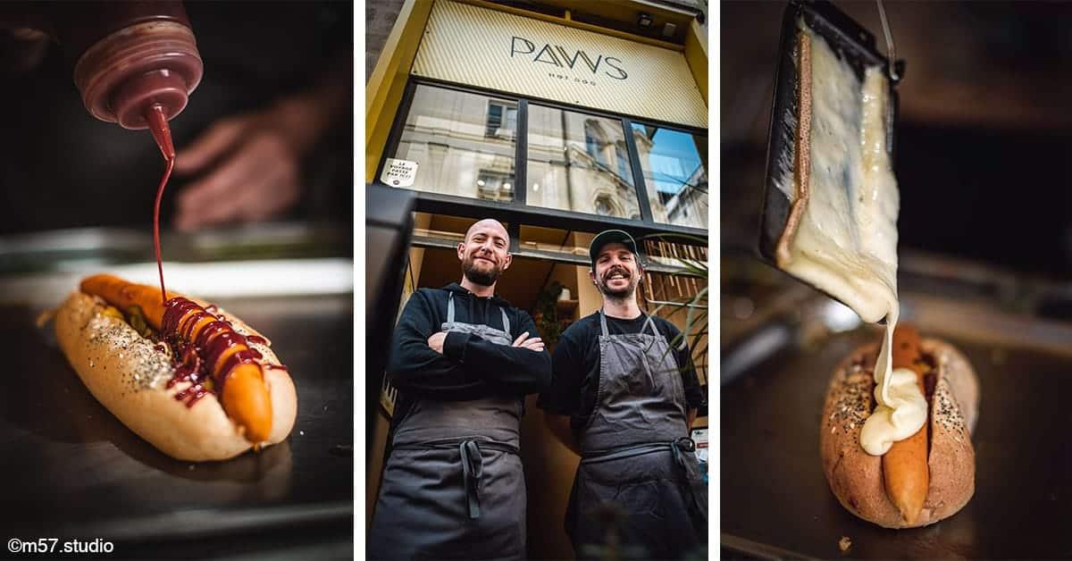 restaurant bar paws hot-dog ile de nantes 2020