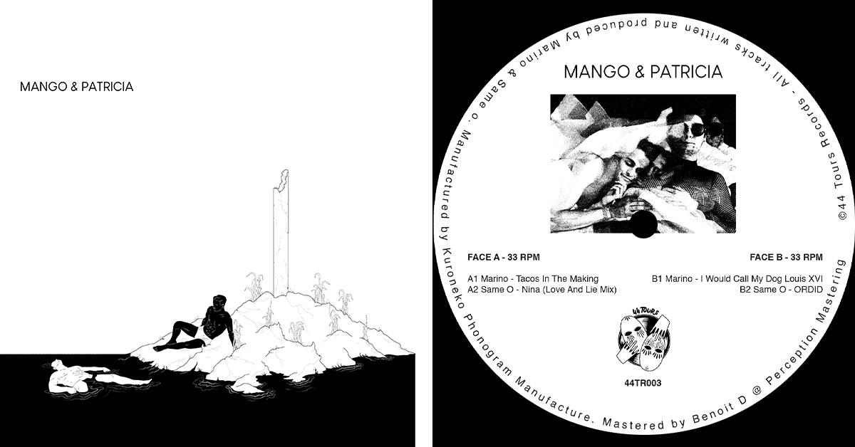 44 tours-EP-Mango-et-patricia-pochette