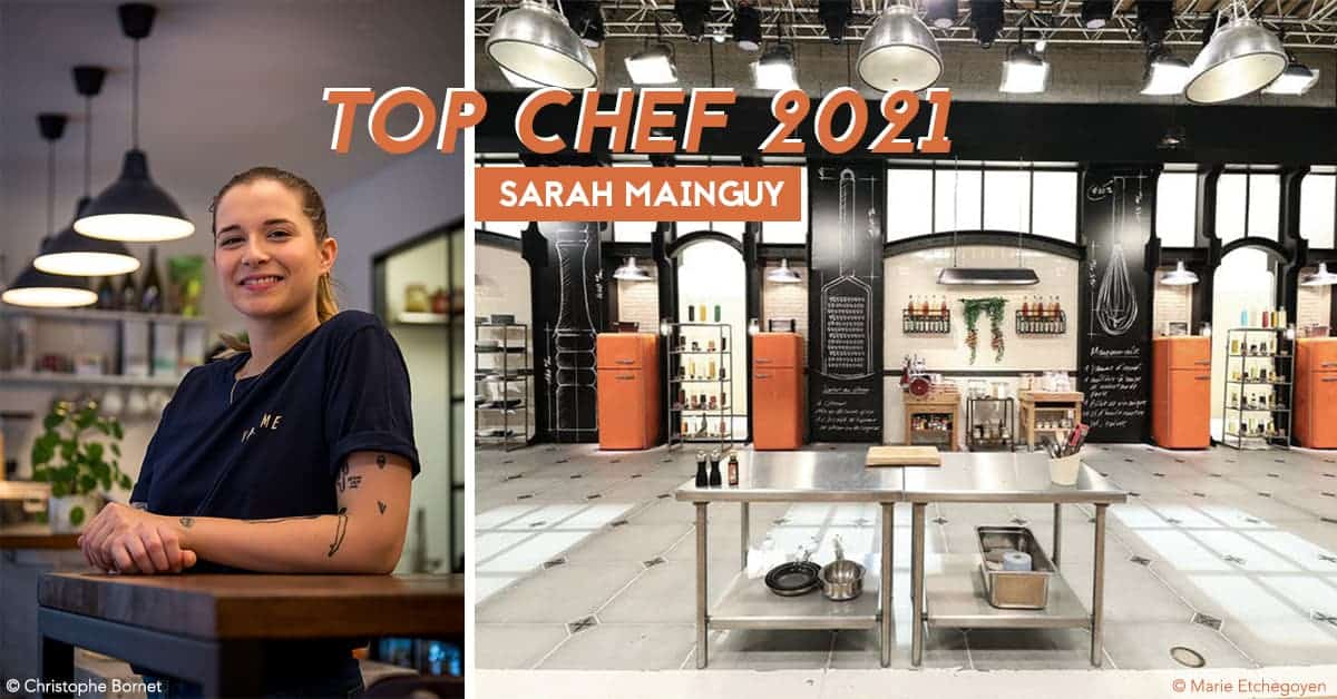 top chef 2021 sarah mainguy cheffe vacarme nantes