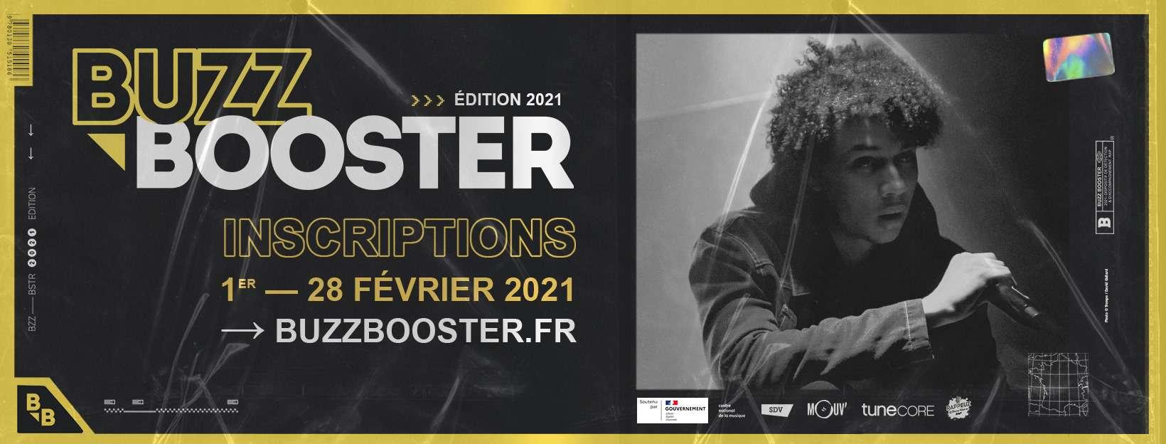 buzz booster 2021 pays de la loire nantes pick up production trempolino artiste rap