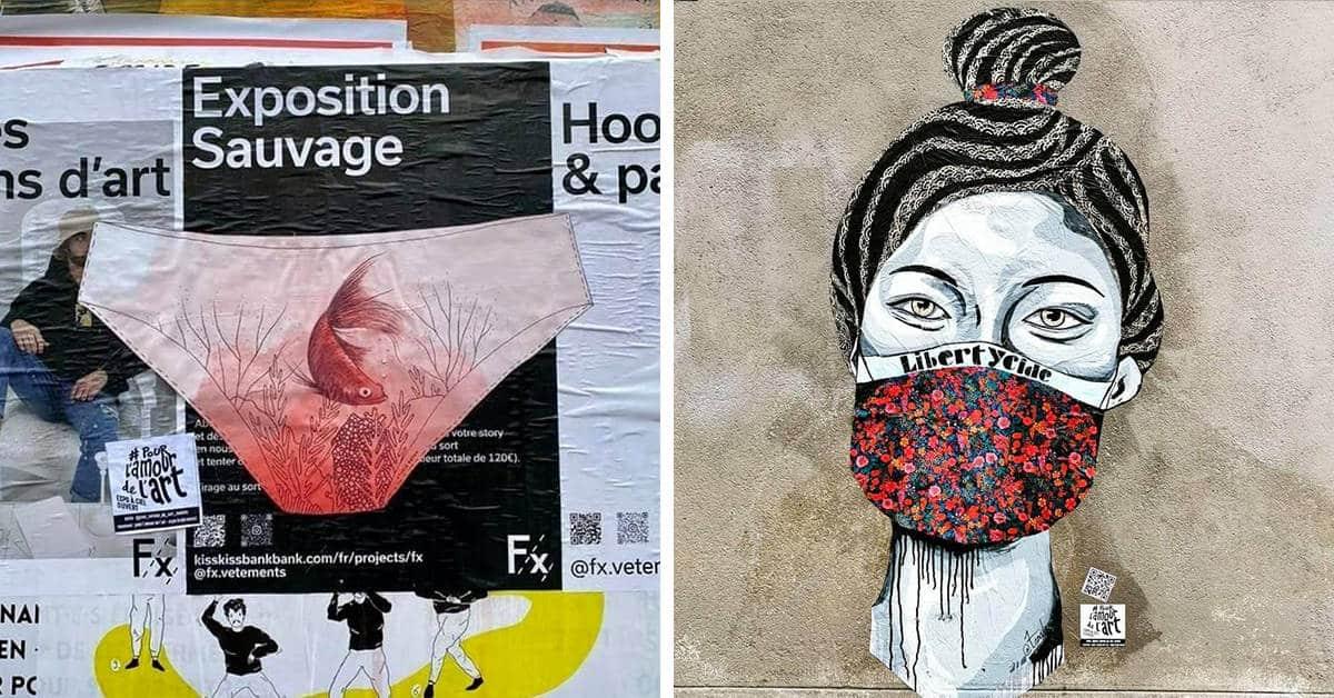 pour lamour de lart nantes expo street art 2021 1