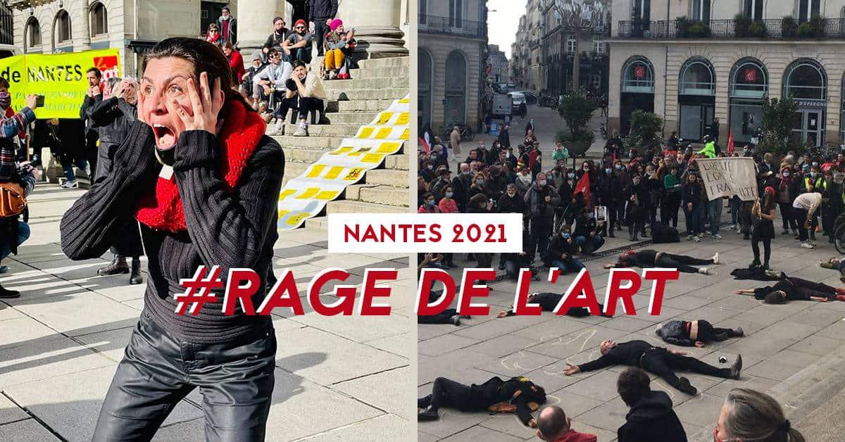 #rage de l'art nantes 2021 mourvement artistes spectacles